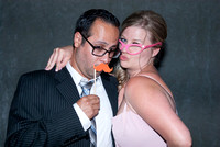 Nikki and Chris Live Photo Booth Photographs by Cincinnati wedding photographer Tammy Bryan