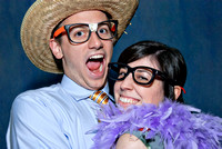 Lauren and Jon's Live Photo Booth Photographs by Cincinnati wedding photographer Tammy Bryan