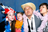 Anju and Daniel Live Photo Booth Photographs by Cincinnati wedding photographer Tammy Bryan