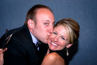 Beth and Scott Live Photo Booth Photographs by Cincinnati wedding photographer Tammy Bryan